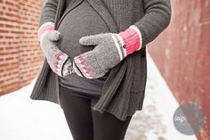 Maternity Snow Pic! Leigh Wells Photography