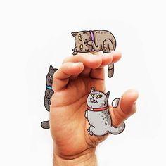Langue des signes – Un adorable alphabet illustré par Alex Solis
