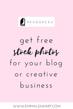 Do you want free styled stock photos to use for your blog/biz? Emma Lenhart has the perfect stock photos for instant download, specifically made with bloggers and creative entrepreneurs in mind. Click through to get your FREE photo pack today!