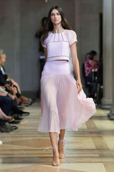 Carolina Herrera Spring 2016. See all the best looks from NYFW here: