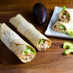 This healthy and delicious wraps taste like chilled chicken enchiladas without the sauce on top
