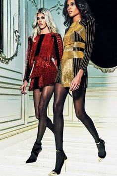 Balmain Parigi - Pre-Fall - Shows - Vogue. Fashion Week, Look Fashion, High Fashion, Fashion Show, Fashion Design, Couture Fashion, Runway Fashion, Womens Fashion, Latest Fashion