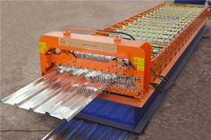 Our #color #steel #roll #forming #machine becomes more and more popular. When we build the constructions, we need the roofing sheet roll forming machine, wall panel roll forming machine, fully automatic C purlin roll forming machine, shearing machine, bending machine and so on. For the roofing sheet roll forming machine, the customer use the trapezoidal sheet panel, glazed tile panel, IBR sheet panel ….it depend on the customer various requirements.