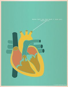 Aorta tell you how much I love you (Nerdy Dirty by Nicole Martinez.)