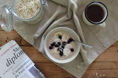 Equinoxe : Porridge froid à préparer la veille #vegan