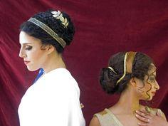 Ladies of 2318, Greek hairstyles