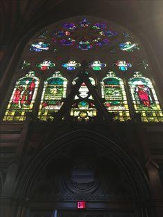 Boston - Harvard University Grad Hall Interior