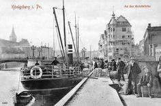 KÖNIGSBERG Pr.   An der Holzbrücke