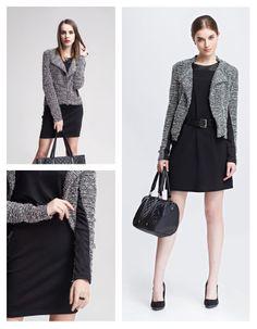 www.topsecret.pl/sukienka-damska---sukienka-bez-podszewki-luzna-taliowana-z-marszczeniami-do-pracy-na-co-dzien-na-impreze-ssu0786-top-secret,19651,165,pl-PL.html#color=KOLOR_122 Monochrome, Trends, Chic, Style, Fashion, Shabby Chic, Swag, Moda, Elegant