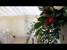 Wedding Marquee at Hazlewood Castle