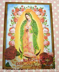 Handmade card: Guadalupe
