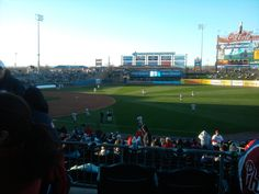 Lehigh Valley Ironpigs. A review of the 2012 home opening game. Coca-Cola park is a great place to take the family.