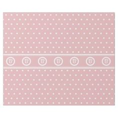 Monogram Fifties Retro Polka Dots on Baby Pink Wrapping Paper Baby Shower Wrapping, Pink Wrapping Paper, Newborn Baby Gifts, Shower Gifts, Ideas Party, Keep It Cleaner, Holiday Cards, Shower Ideas, Polka Dots