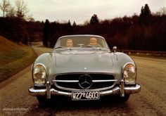 MERCEDES BENZ 300 SL Roadster (W198) (1957 - 1963)