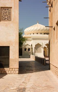 Bastakia Quarter, Dubai ~   Mosque around the corner