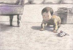 Chiaki Okada イタリア絵本の原画展_岡田千晶