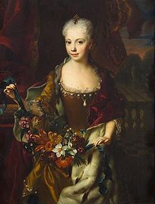 Maria Anna of Austria (1718 - 1744). Daughter of Charles VI and Elisabeth Christine of Brunswick-Wolfenbüttel. She married Charles Alexander of Lorraine.