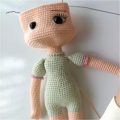 Örgü Oyuncak Nehir Bebek Tarifi See other ideas and pictures from the category menu…. Baby Knitting Patterns, Amigurumi Patterns, Doll Patterns, Lol Dolls, Cute Dolls, Knitted Dolls, Crochet Dolls, Baby Mobile, Baby Unicorn