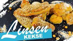 Süße Linsenkekse backen - Rezept von Um Die Welt Kochen Ethnic Recipes, Vegan Biscuits, Vegane Rezepte, Snack Recipes, Almonds, Oven