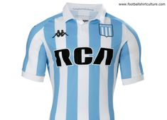9e83cb5b767 This is the new Racing Club de Avellaneda 2018 home football shirt by  Kappa. The new home kit will be used during several tournaments in View  the  Racing ...