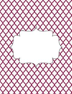 Planner Cover and Dividers - blank free
