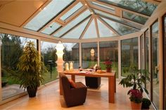 9 beautiful winter garden house extension you dream of - Homelilys Decor Garden Architecture, Concept Architecture, Beautiful Home Designs, Beautiful Homes, Beautiful Dream, Conservatory Extension, Conservatory Ideas, House Extensions, Decorating Your Home