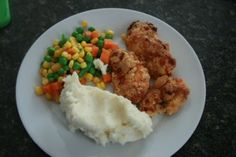 Oven Baked Fried Chicken