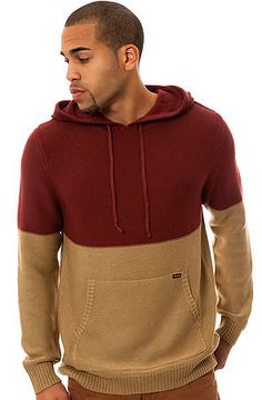 The Conductor Hooded Sweater in Merlot by Volcom Not many brands are able to make quality products on a consistent basis, but the creative minds over at Volcom Stone are no ordinary people.  $75