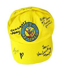 Check out this item in my Etsy shop https://www.etsy.com/listing/248154818/retired-autograph-hat