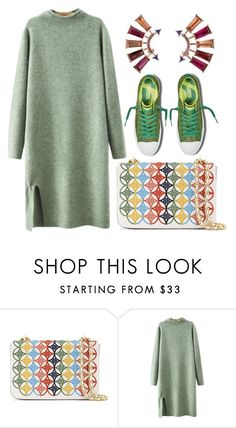 """Untitled #6613"" by cherieaustin ❤ liked on Polyvore featuring Tory Burch and Chicnova Fashion"
