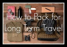 If you're going on a RTW trip you probably be visiting the top destinations around the world and want to participate in a range of activities. For indefinite travelers, you may never know where the wind might take you. Find out how to pack from a travel pro that's been on the road for seven years!