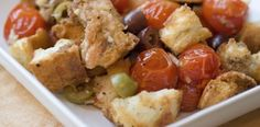 Roasted Tomato-Bread Stuffing