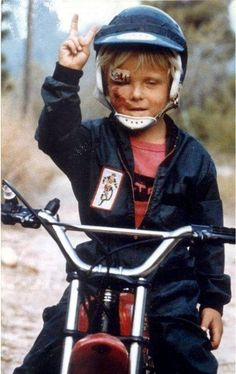 Bad Ass Motorcycle Kid
