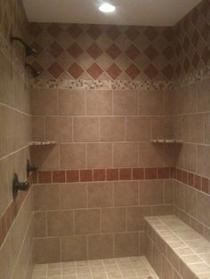Large his/her shower