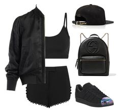 """Untitled #230"" by gr20gk on Polyvore featuring A.L.C., Helmut Lang, Alexander Wang, adidas, Gucci and JUST DON"