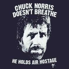 Chuck Norris is The Man!