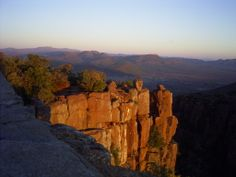 Sunset at the Valley of Desolation Graaf Reinet South Africa