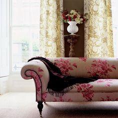 Gemusterte Wohnzimmer Wohnideen Living Ideas Interiors Decoration