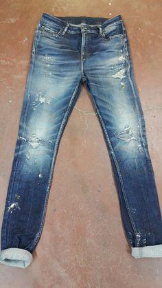 N/A Raw Denim, Denim Jeans Men, Jeans Pants, Blue Jeans, Azul Indigo, Denim Art, Leather Apron, Patterned Jeans, Denim Outfit