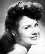 Miss America 1942, Jo-Carroll Dennison from Tyler, Texas
