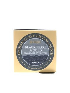 2e72fbd7fe5346 Amazon.com  Petitfee Black Pearl and Gold Hydrogel Eye Patch, 60 Sheet   Health   Personal Care