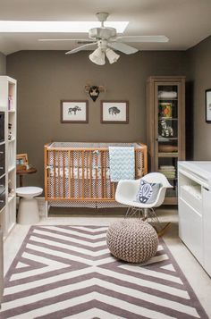 Gender neutral nursery... LOVE the African inspired theme. Maybe we've found a…