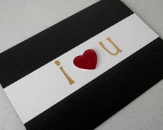 Handmade Valentine's card £3.00