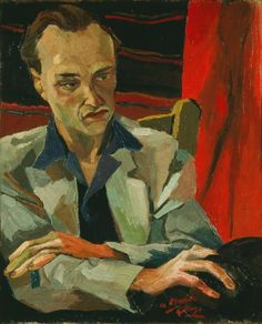 Renato Guttuso - Ritratto di Mario Alicata (1940)