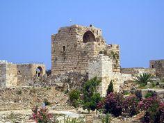 Castelo de Biblos-Libano-5000 ac