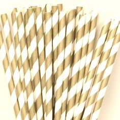 Ruby Rabbit Partyware - Striped Paper Straws