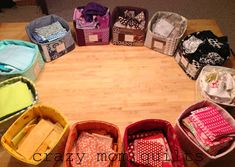 Sorting scraps into color coded bins crazy mom quilts: a complete set