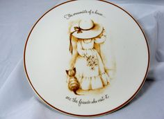 Vintage Taylor Smith Plate Friends Decorative by EclecticVintager,