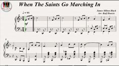 When The Saints Go Marching In - Louis Armstrong, Piano https://youtu.be/T9Q8OTW9Zzo