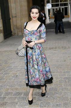 Fan Bingbing - Paris Fashion Week Spring/Summer 2011 - Louis Vuitton Show Arrivals